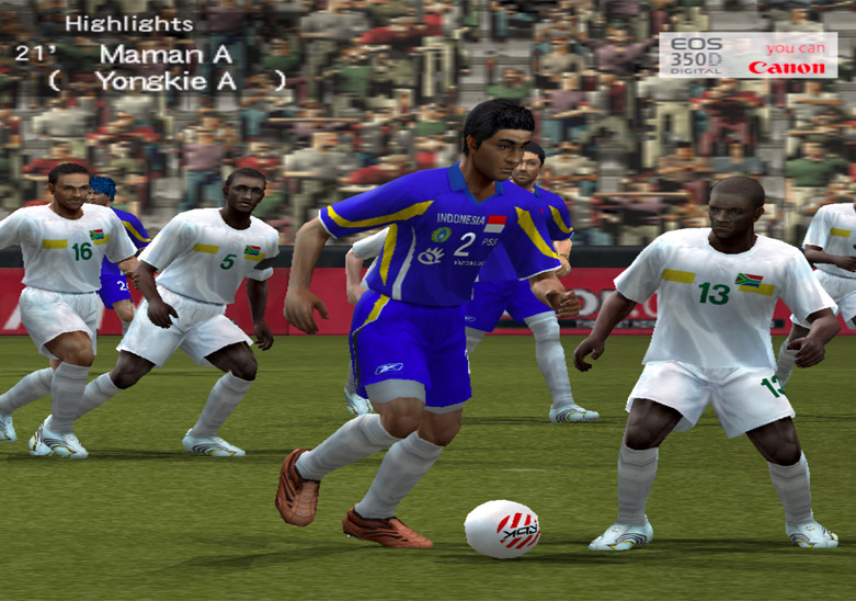 PES 6 Option File TIMNAS Indonesia Kreasiku